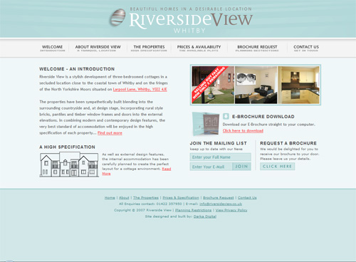 08-riversideview in 30 Beautiful Real Estate Websites