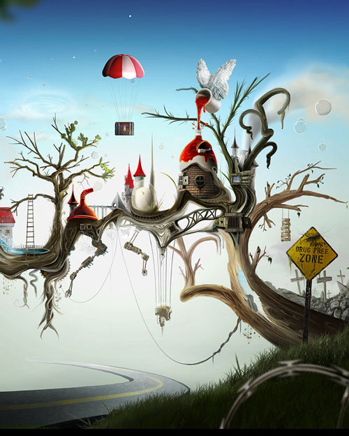 132-photoshop in Beautiful Photoshop Illustrations By Artists Around The World
