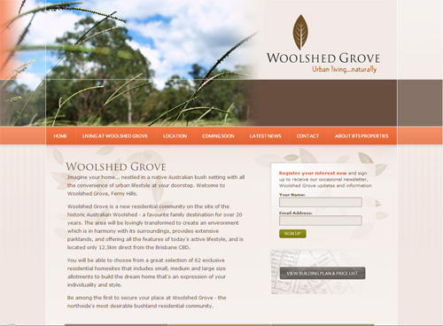 18-woolshed in 30 Beautiful Real Estate Websites