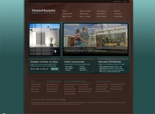 21-marin in 30 Beautiful Real Estate Websites