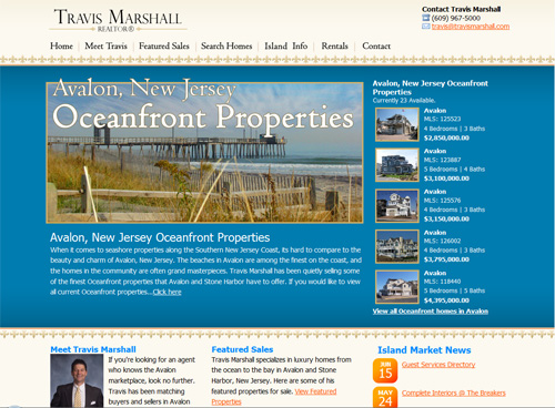 26-travis Marshall in 30 Beautiful Real Estate Websites