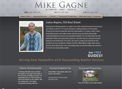 29-mike Gagne in 30 Beautiful Real Estate Websites