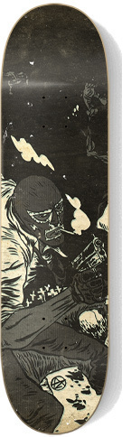 815261221280597 in 40 Beautiful Skateboard Designs
