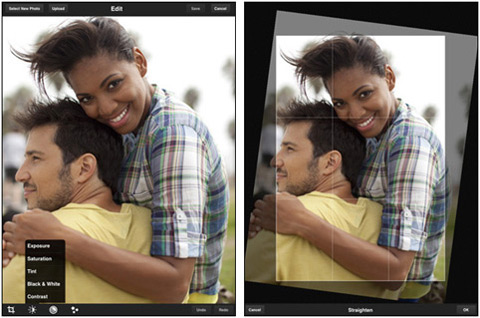 Adobe Photoshop Express by Adobe Systems Incorporated 01 40 Useful iPad Apps for Web Designers