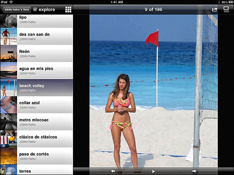 FlickStackr by iPont 01 40 Useful iPad Apps for Web Designers