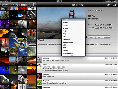 FlickStackr by iPont 02 40 Useful iPad Apps for Web Designers
