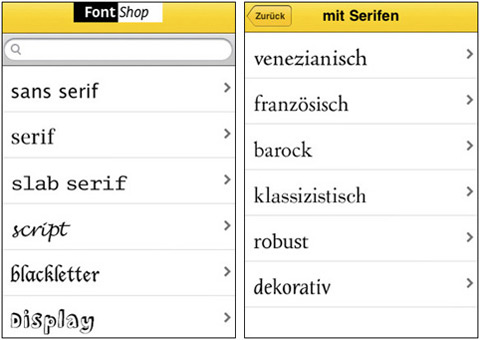 FontShuffle by FontShop AG 01 40 Useful iPad Apps for Web Designers