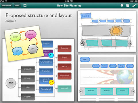 OmniGraffle by The Omni Group 01 40 Useful iPad Apps for Web Designers