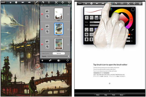 SketchBook Pro by Autodesk 02 40 Useful iPad Apps for Web Designers
