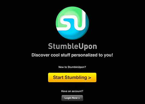 StumbleUpon by StumbleUpon 01 40 Useful iPad Apps for Web Designers