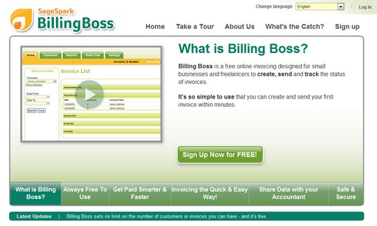billingboss Top Invoice & Accounting Services For Freelance Designers