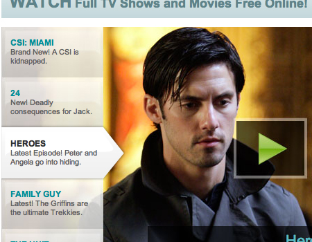 Fancast in Showcase Of Well-Designed Tabbed Navigation