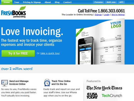 freshbooks Top Invoice & Accounting Services For Freelance Designers
