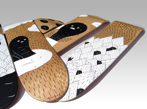 Graves1 in 40 Beautiful Skateboard Designs
