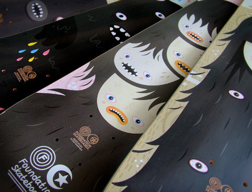 Graves2 in 40 Beautiful Skateboard Designs