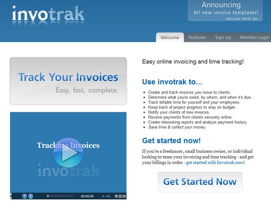 invotrack Top Invoice & Accounting Services For Freelance Designers