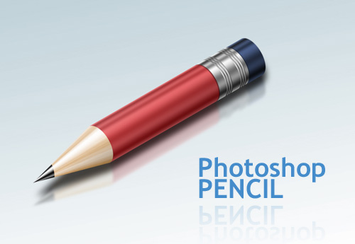 pencil 40+ Excellent 3D Effects Photoshop Tutorials