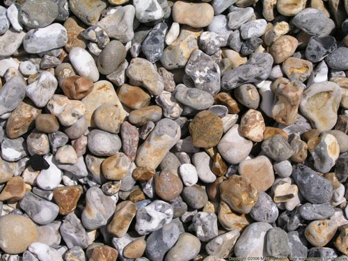 Beautiful Rounded Pebble Texture