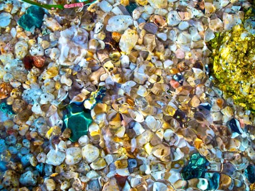 Colorful Pebble Texture