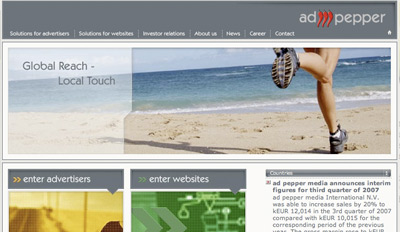 adpepper Top Paying CPM Advertising Network