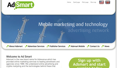 adsmart Top Paying CPM Advertising Network