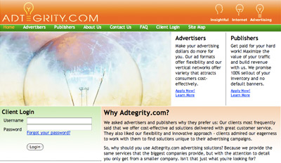 adtegrity Top Paying CPM Advertising Network