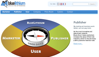 bluelithium Top Paying CPM Advertising Network
