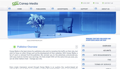 canepmedia Top Paying CPM Advertising Network