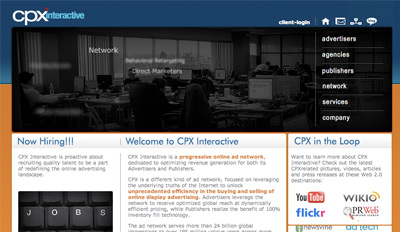 cpxinteractive Top Paying CPM Advertising Network