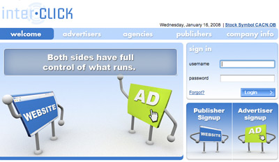 interclick Top Paying CPM Advertising Network