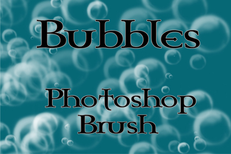 Bubbles Brush for Photoshop