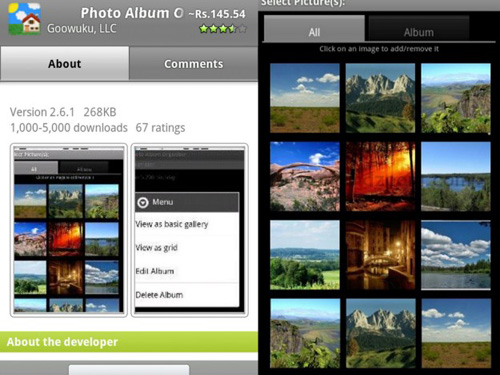 album final Top 20 Android Photography Apps