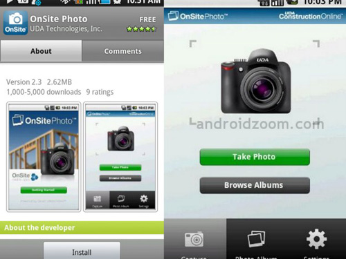 osp final Top 20 Android Photography Apps