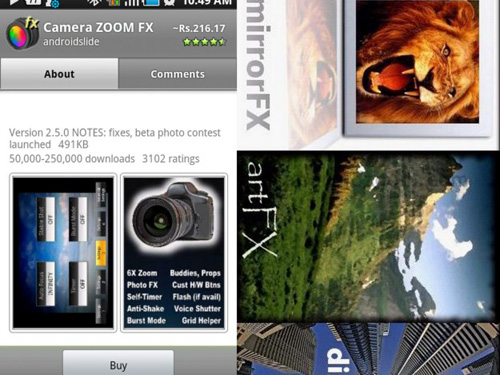 zoom fx final Top 20 Android Photography Apps