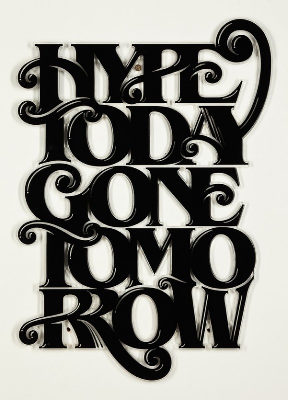 FYI Monday Typography Inspiration by Luke Lucas